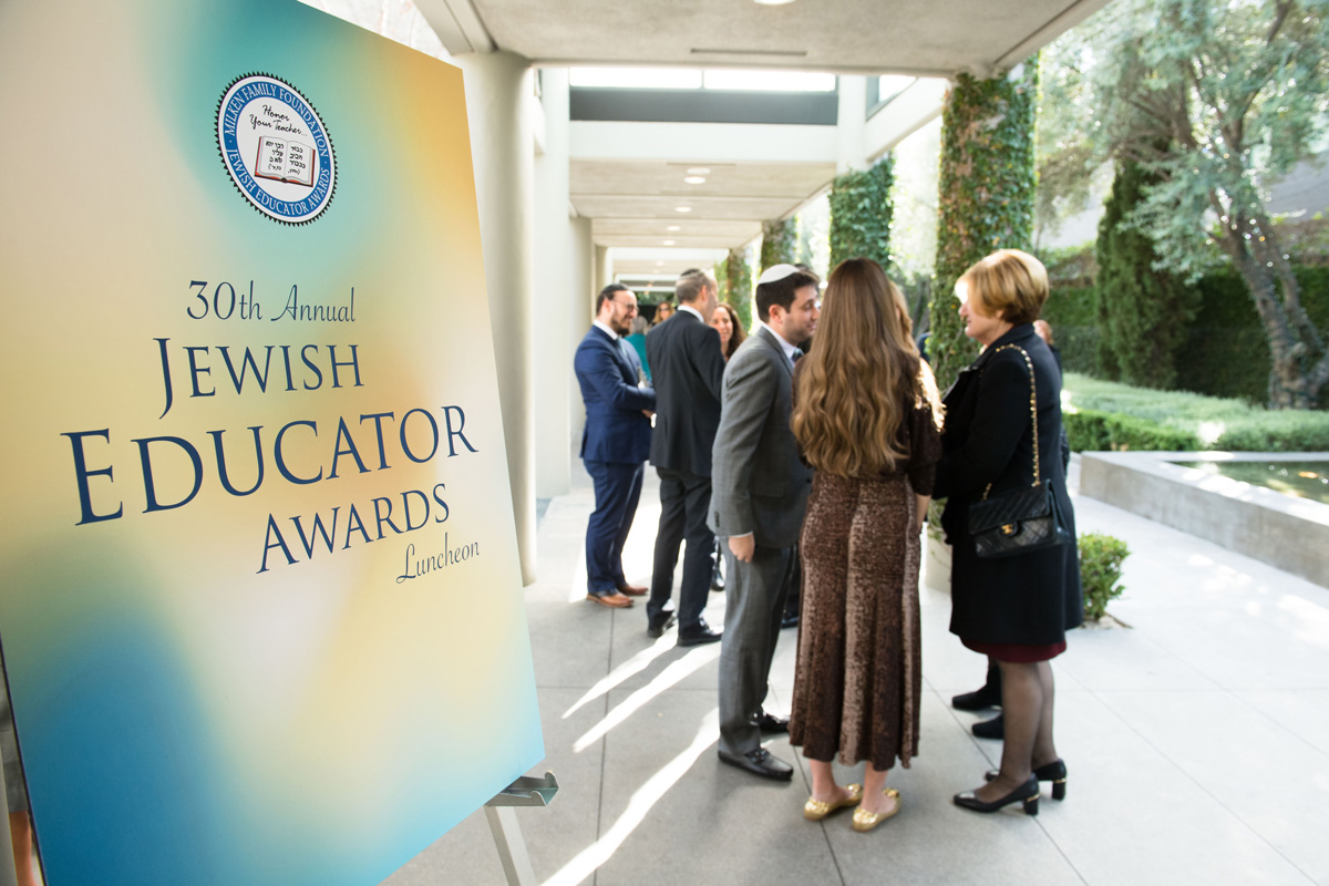 30th Awards Luncheon Honorees and guests arrive for the 30th annual Jewish Educator Awards luncheon in Los Angeles.